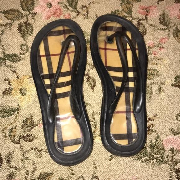 ab3a95e8b56b59 Burberry Shoes - WOMEN BURBERRY FLIP FLOPS